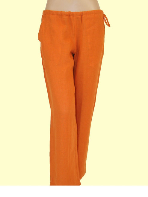 100% Hemp Russet Drawstring Pants