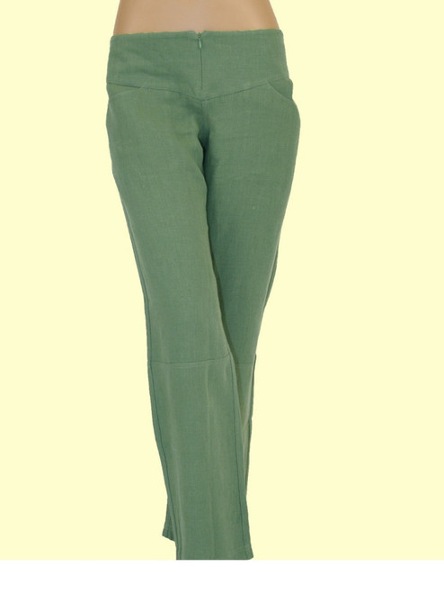 Women's Hemp Panel Pants