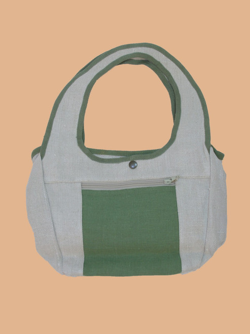 Flower Patch Tote - Hemp