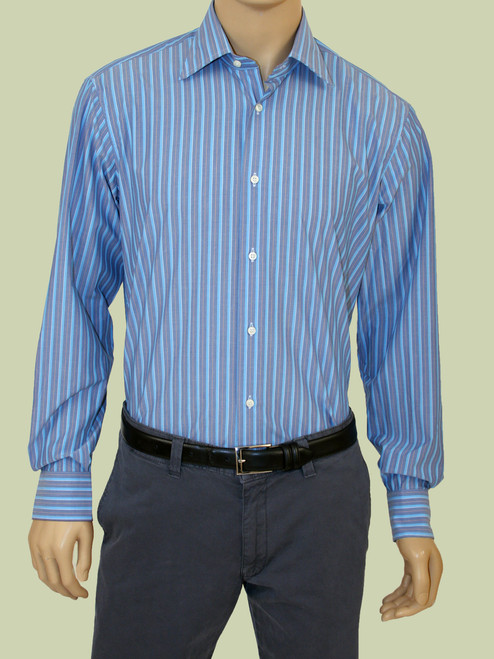 Cabana Stripes Long Sleeve Colin Shirt