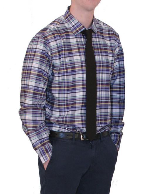 Charles Duke Of Cornwall Plaid  L/S Shirt