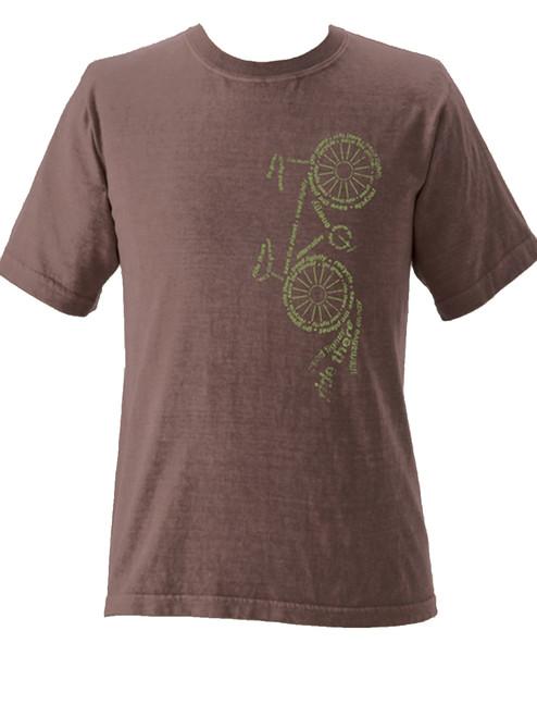 Upward Bike Short Sleeve Organic Tee - Fair Trade
