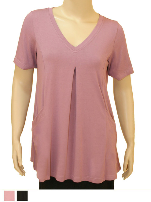 Women's Plus Size Blush Escape Tunic - Bamboo Viscose