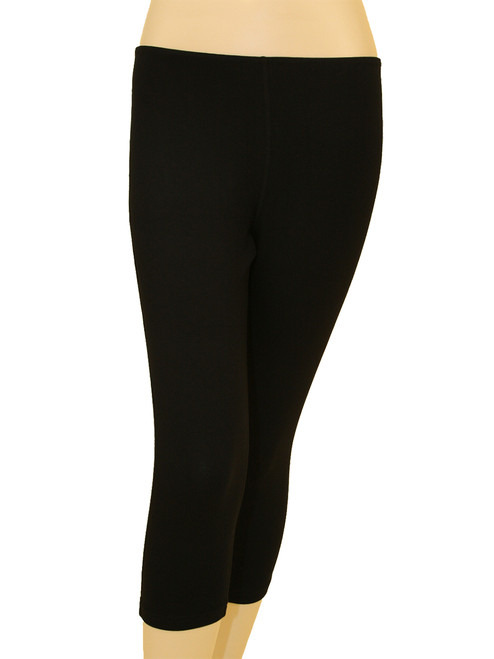 Women's Plus Size Capri Leggings  - Bamboo Rayon