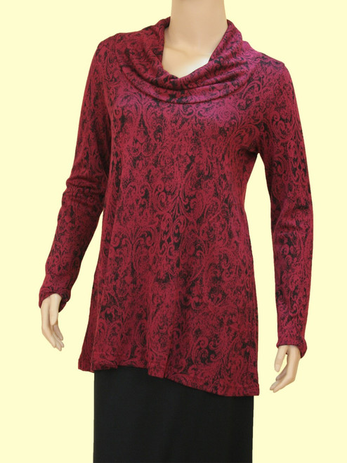 Women's Reflect Cowl Tunic - Bamboo Viscose