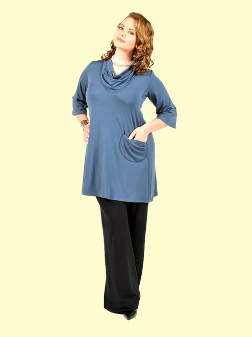 Women's I Want It Longer Tunic Dress - Bamboo Viscose