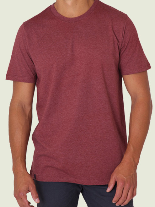 Men's  Crew Neck Tee - 60% organic cotton/40% modal