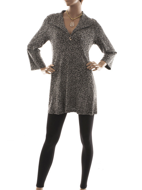 Static Function Tunic - Certified Organic Bamboo jersey knit blended