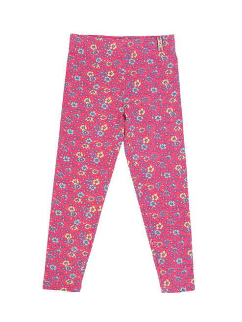 Flower Print Girl Legging - Organic Cotton