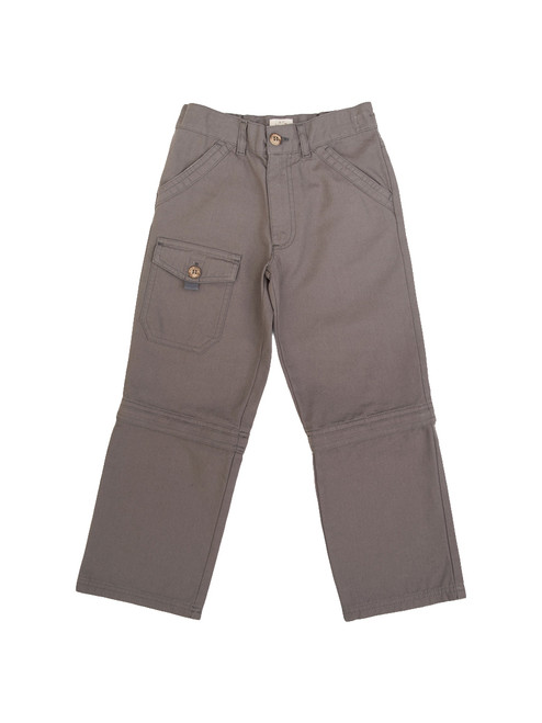 Boys Zip-Off Trouser - Organic Cotton