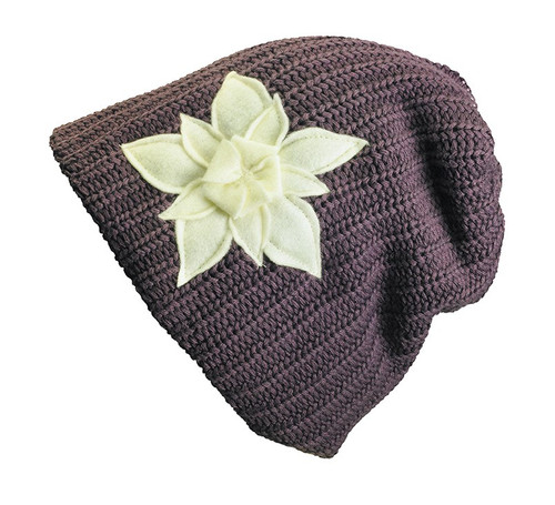 Lakshmi Slouch Beanie - Up-cycled Materials