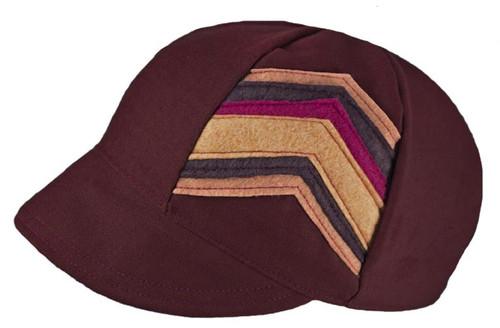 Celine Pearl Cap - Up-cycled Materials