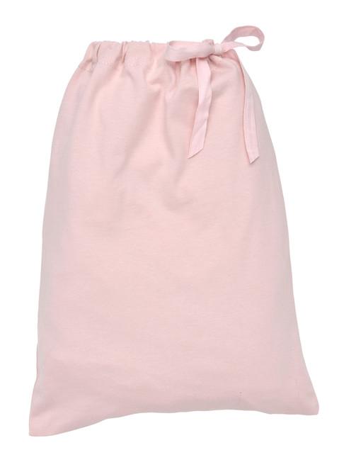 Blush  Fitted Crib Sheet In a Bag.  Organic Cotton - Fair Trade