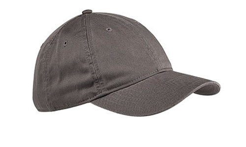 Charcoal Unstructured Baseball Hat - Organic Cotton