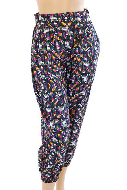 Organic Satin Cotton Harem Pant