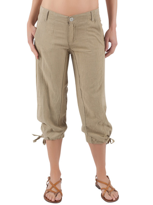 Carby Pants - Organic Linen