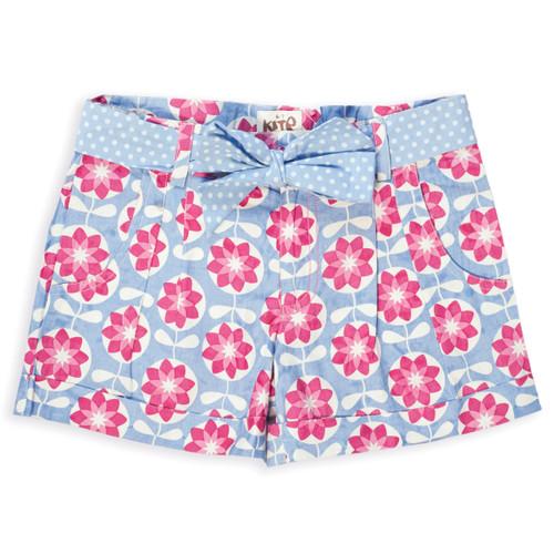 Organic Cotton Girl's Spiro  Shorts  - Fair Trade