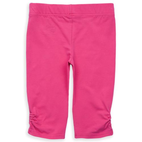 Organic Cotton Girl's Ruched Leg Capri Pants - Fair Trade
