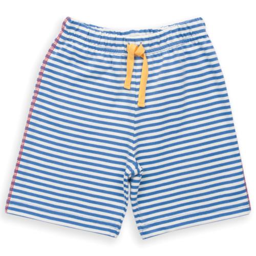 Organic Cotton Baby Boy Jersey Stripy Short - Fair Trade