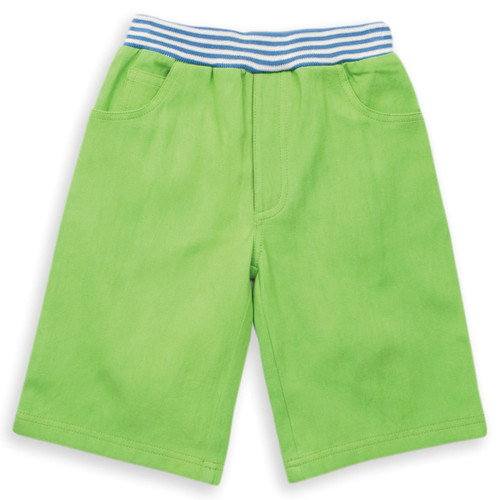 Organic Cotton Boys  Pull Up Jeans Short - Fair Trade