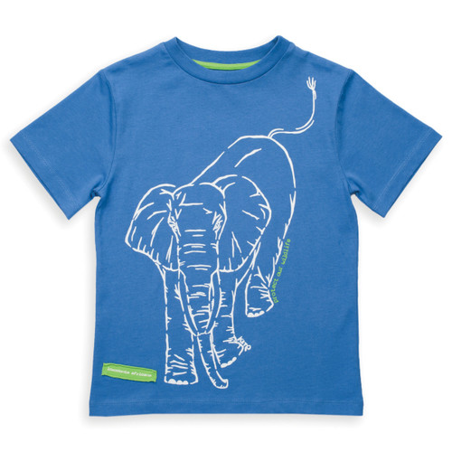 Organic Cotton Elephant T-Shirt - Fair Trade