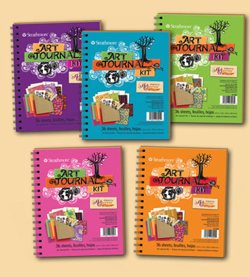 Art Journal Kit - Recycled Materials