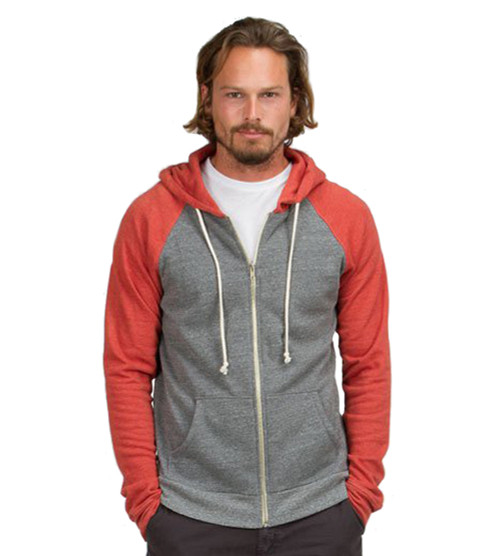 Men's Rubi Malibu Zip Front Hoody - Sustainable Materials