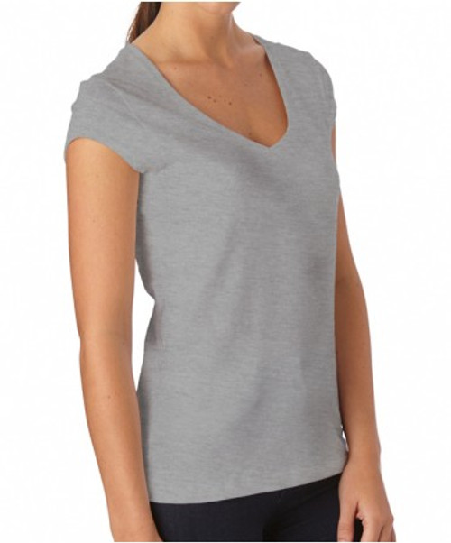 Women's Organic Cotton V-Neck T- Shirt