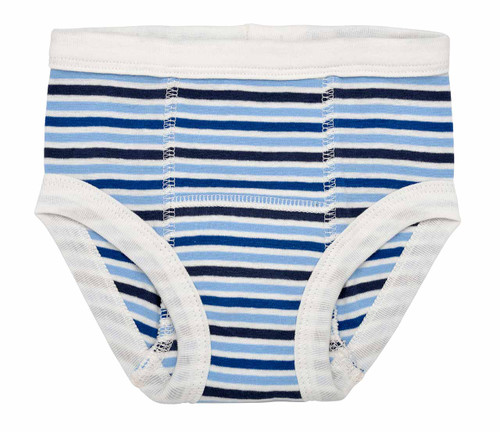 Organic Training Pants for Babies & Toddlers - Blueberry Stripes