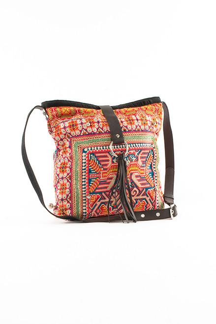 Elizabeth II Messenger Textile Bag - Recycled Materials