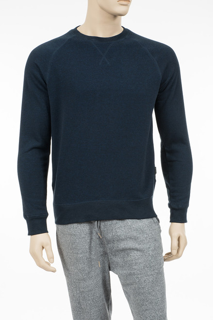 Basic Fleece Crew Neck Sweatshirt - Organic Cotton & Recycled Polyester
