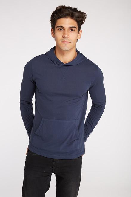 Pullover T-Shirt Hoodie -  Organic Cotton