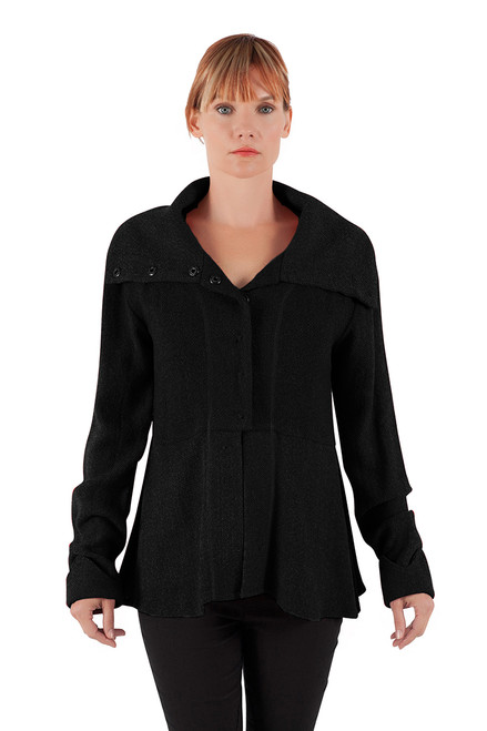 Gretta Short Jacket - Jute/Cotton Blend