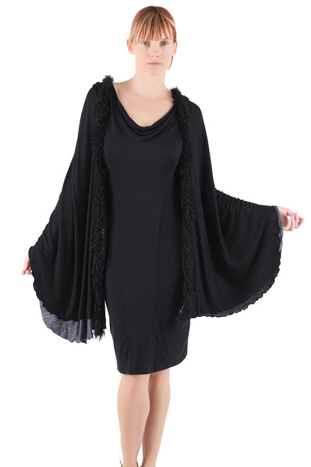 Charlotte Hooded Wrap - Modal