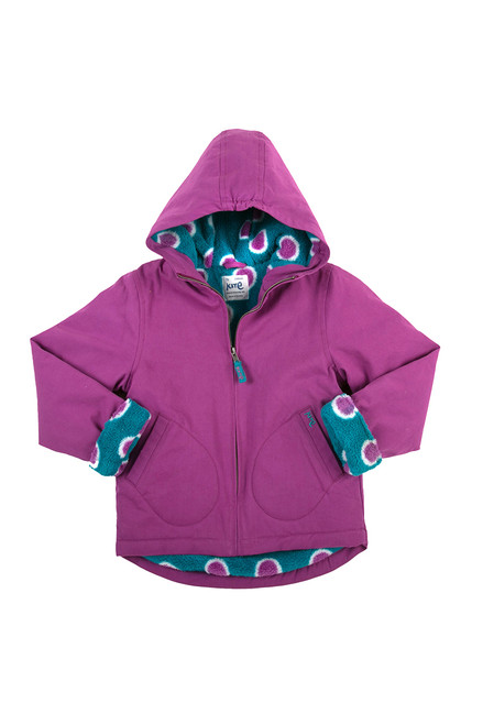 Girl's Organic Cotton GO Coat