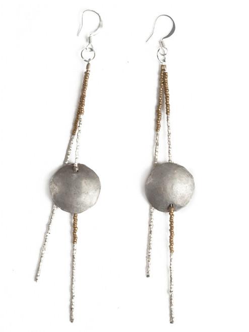Sela Dangle Earrings - Recycled Materials