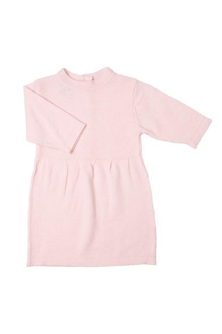 100% Organic Merino Wool Baby Poppy Dress