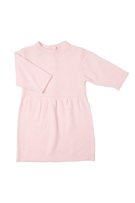 100% Organic Merino Wool Baby Poppy Dress