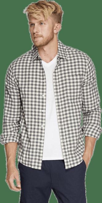 Men's One Pocket Flannel Shirt  - Organic Cotton
