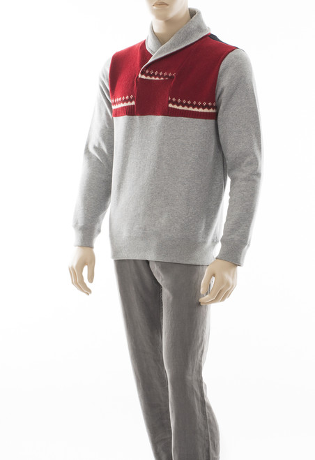 Pete Men's Sweater - Recycled Materials