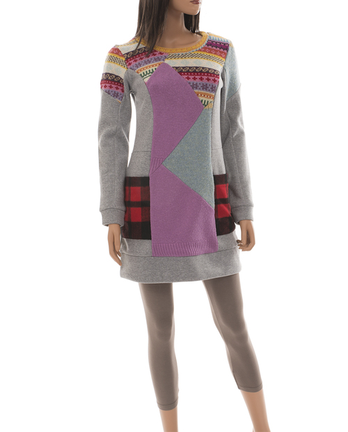 Claudia Tunic Dress - Vintage Materials