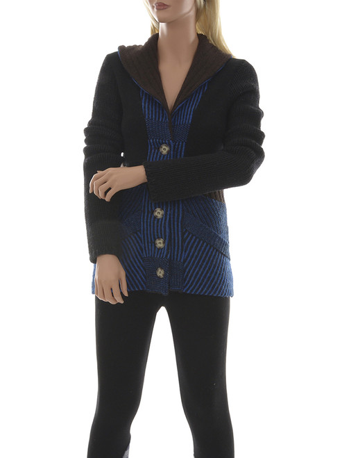 Miss Cindy Cardigan  - Recycled Materials