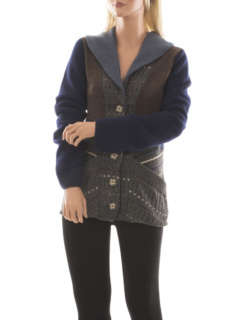 Miss Bonnie Cardigan  - Recycled Materials