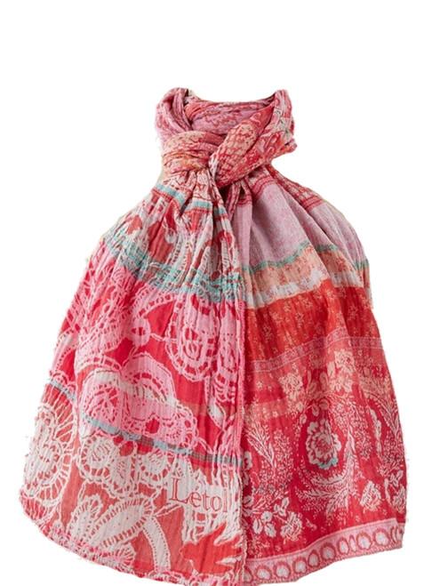 Denise Rose Tagada Scarf - 100% Organic Cotton