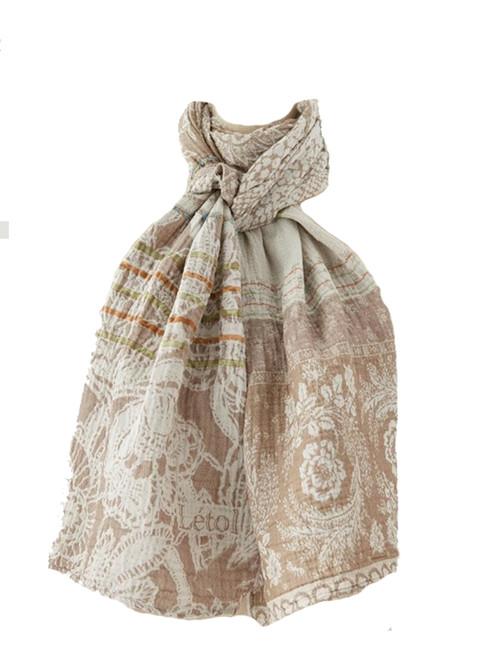 Denise Coquillage Scarf - 100% Organic Cotton