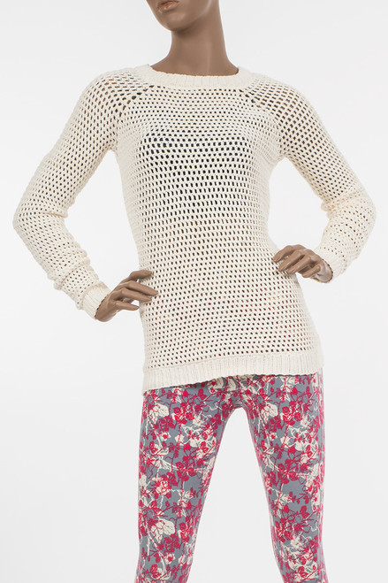 Natural Okello Knit Sweater - Organic Cotton
