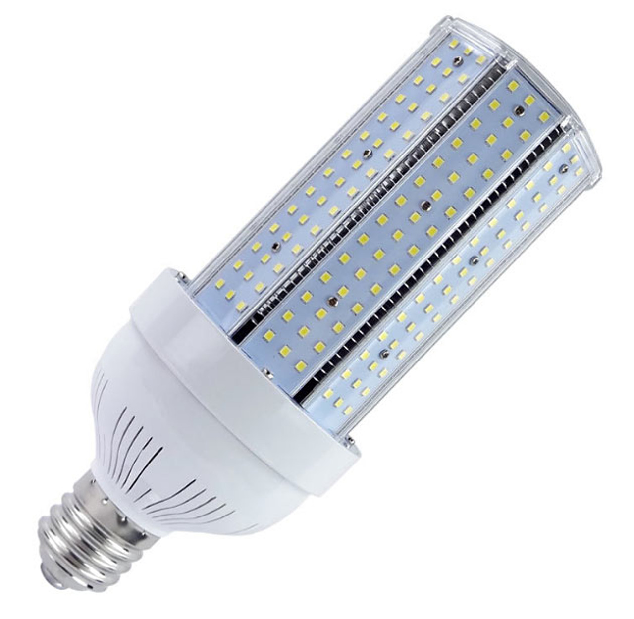 60 Watt High Output Led Corn Bulb Replaces 180 Watt Hid 9 000 Lumens Etl Dlc Listed 50 000 Hours 10 Year Warranty