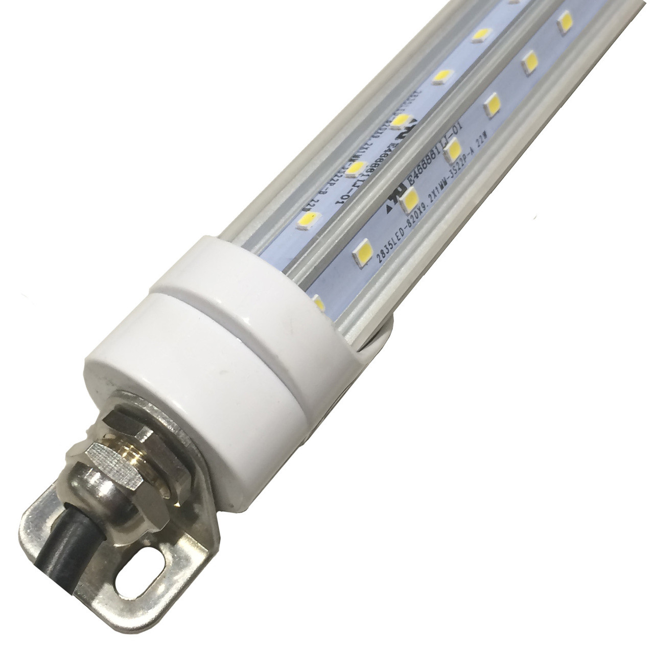 4 Foot Led Lights >> T8 Led Freezer Cooler Six Foot Tube To Replace Florescent S Led