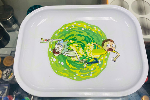 Rick and Morty Small Rolling Tray