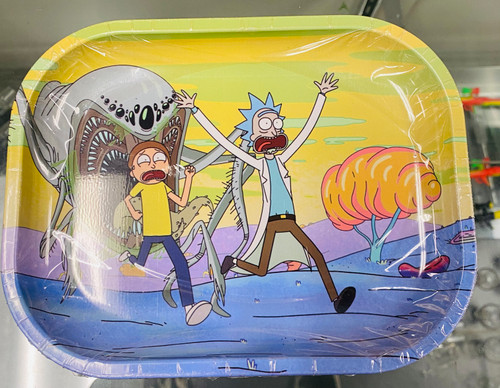 Rick and Morty Monster Small Rolling Tray